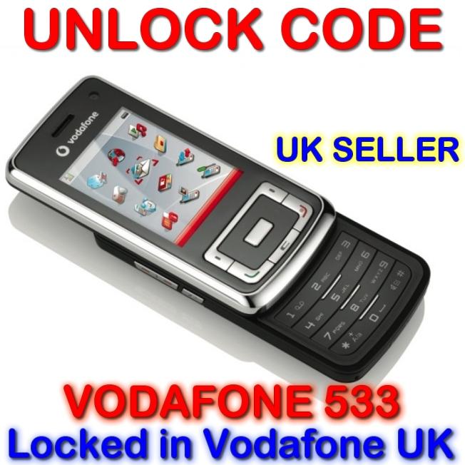 Decodare Vodafone 533 Online pe IMEI ( cod de deblocare )