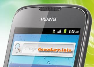 Cum se decodeaza Huawei G300 ?