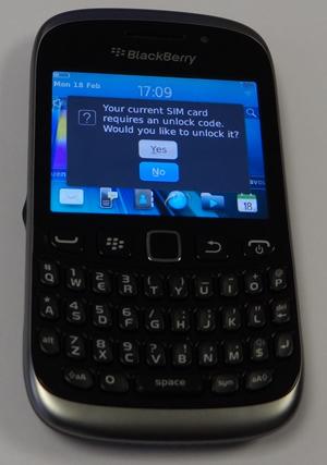 Decodare Blackberry 9320 din Orange Romania