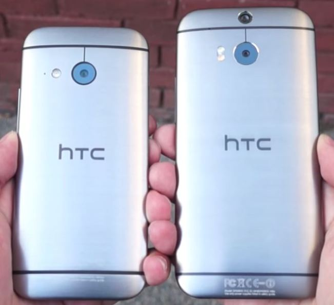 Capacul din spate, HTC One Mini 2 si One M8