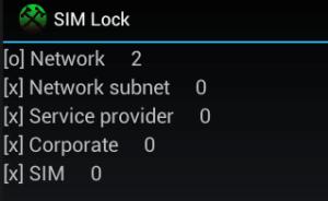 Verificare incercari ramase Sony Xperia Z3